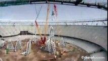 London 2012 Olympics: timelapse of Olympic Stadium