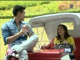 Kim Chiu shows luxury bag given by Xian Lim