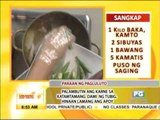 Recipe  Sinigang na baka sa santol