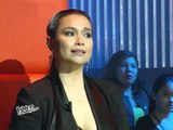Lea gives standing ovation for Team Sarah in 'Voice'