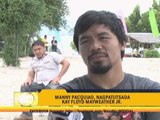 Pacquiao: Mayweather talks too much