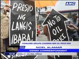 Consumer groups condemn new oil price hike