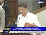 Chiz seeks Senate probe on pork barrel scam