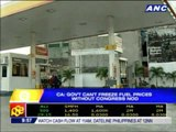 CA: Gov't can't freeze fuel prices without Congress nod
