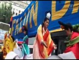 Chinese Embassy Involved in Attacking Falun Gong Float in Mexico