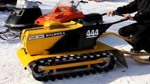 Bolens Hus-ski and Diablo vintage snowmobiles - HD