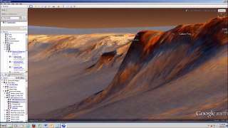 Google Mars - Google Map - Google Earth