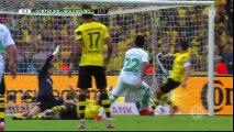 Dortmund 1-3 Wolfsburg  ~ [DFB Pokal] - 30.05.2015 - All Goals & Highlights