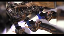 3D printed bionic ants communicate wirelessly to drag object across floor