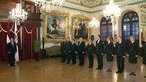 Valsts prezidents sveic NAA jaunos virsniekus 08/01/2014