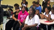 """BEYONCE """"MOVE YOUR BODY"""" LET'S MOVE!! Ronald Edmonds Learning Center (MS 113)"""