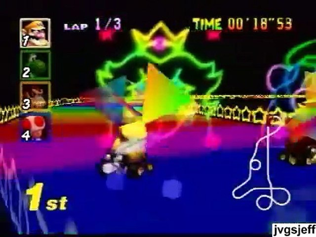 Rainbow Road Through The Years Mario Kart F Zero Video