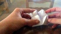 Faire une cocotte en papier / Pliage cocotte