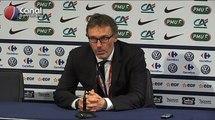 Auxerre / PSG - La conférence d'après-match de Laurent Blanc