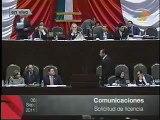 Diputado Pedro Jiménez, hoy en vivo en la Sesión Ordinaria de la Cámara de Diputados (06-09-11)