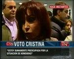 Golpe de estado en Honduras repudio de Cristina Fernandez de Kirchner