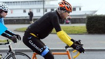 Kerry Breaks Leg in Bike Crash; Forced to End Overseas Trip