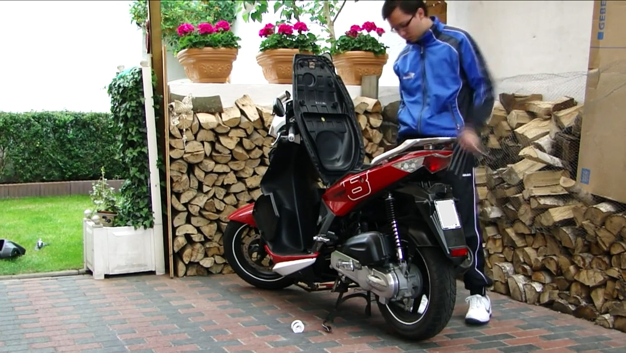 Kymco Super 8 Fast Working