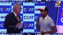 Ceat International Cricket Awards 2015   Lisa Haydon, Kapil Dev, Rohit Sharma, Sunil Gavaskar
