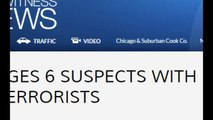 US Charges 6 Suspects with Aiding Terrorists