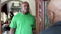 Hilarious Mike Tyson Returns Evander Holyfields' Ear Back Foot Locker Commercial Video