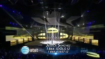 "American Idol Jessica Sanchez ""I Will Always Love You"" Top 13"