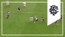 Henry Slade try for England - England v Barbarians