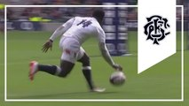 Christian Wade 2nd try - England v Barbarians