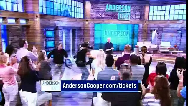 Clare Bowen - Anderson Cooper Live  (02-05-13) - From Clare Bowen Web