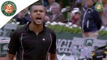 Temps forts J-W. Tsonga - T. Berdych Roland-Garros 2015 / 8e de finale