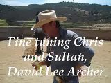 Fine tuning Chris and Sultan,David Lee Archer