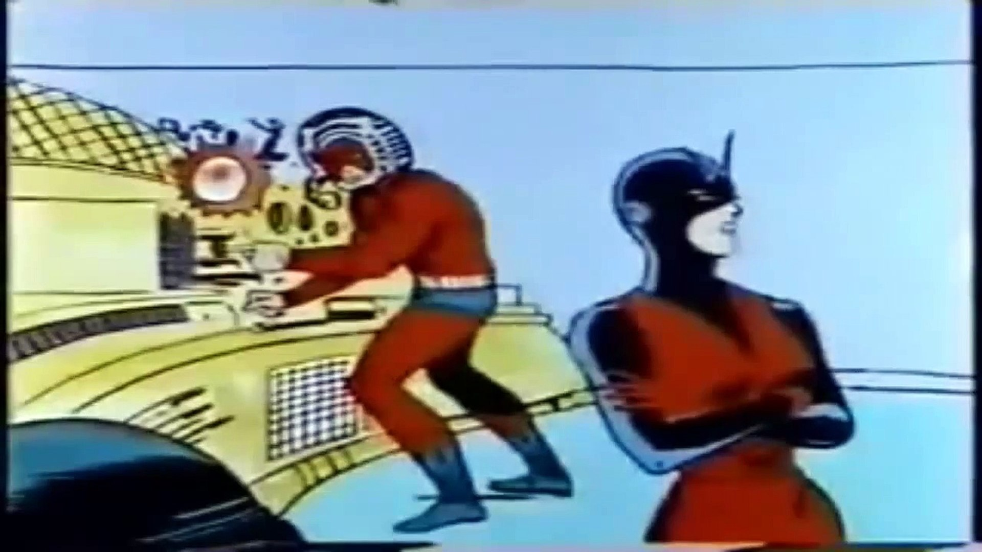 Captain America: The Return Of Captain America (1966) Original Cartoon Part #1 (HIGH QUALITY)