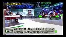 Eduardo Inda se queda sin palabras frente a Pablo Iglesias