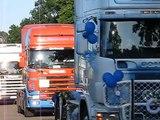 ciężarowy orszak weselny Gosia i Marcin 08.08.2009