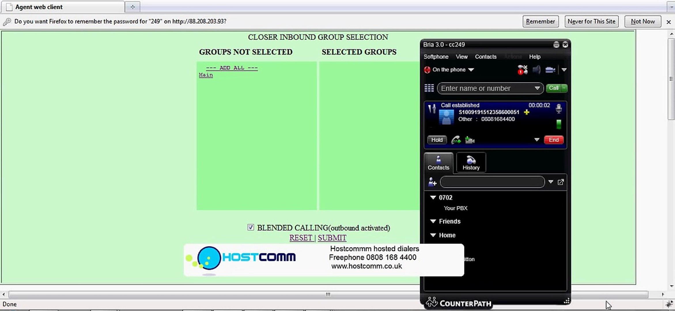 Predictive dialer - Vicidial Agent log on and Ratio calling Tutorial