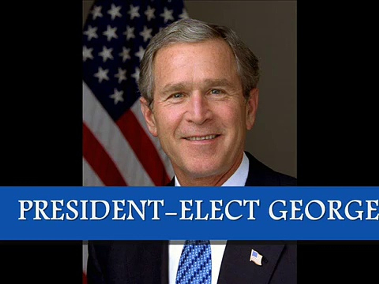 George W. Bush - Oath of office (first term, 2001-2005) January 20, 2001