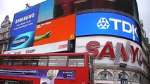 London: Der Piccadilly-Circus ist wie ein kleiner Times Square... is like a little Times Square