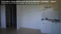 A louer - Appartement - BOUGUENAIS (44340) - 43m²