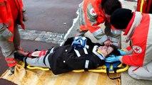 telethon à la Loupe 2010 - Démonstration de la Croix Rouge
