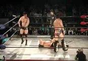 AKIRA & Hiroki Murase vs. Manabu Soya & Kumagoro (Wrestle-1)