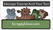Arch Your Text in Inkscape for SCAL