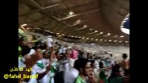 فرحة المجانين بعد تسجيل فيكتور هدفه رقم 100 || فهد الاهلي