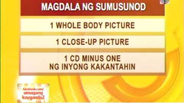 ABS-CBN searching for new male singer