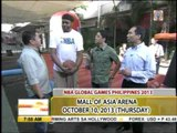 NBA legend Sam Perkins visits 'UKG' set