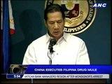 China executes Filipina drug mule
