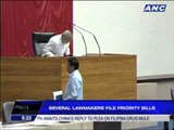 Several lawmakers file priority bills