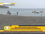 Water currents behind Zambales beach collapse