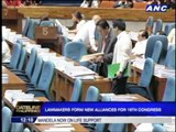 Lawmakers form new alliances for 16th Congress