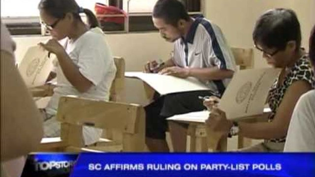 Party list polls not just for marginalized sectors, SC says