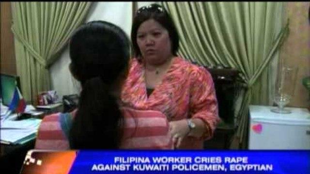 Pinay raped by Kuwaiti cops, Egyptian